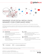 Global Relay Social Media Archiving